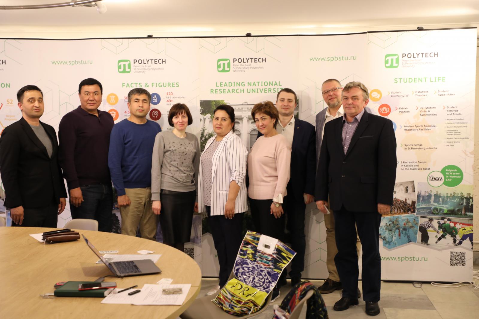 A delegation of the Tashkent State Economic University