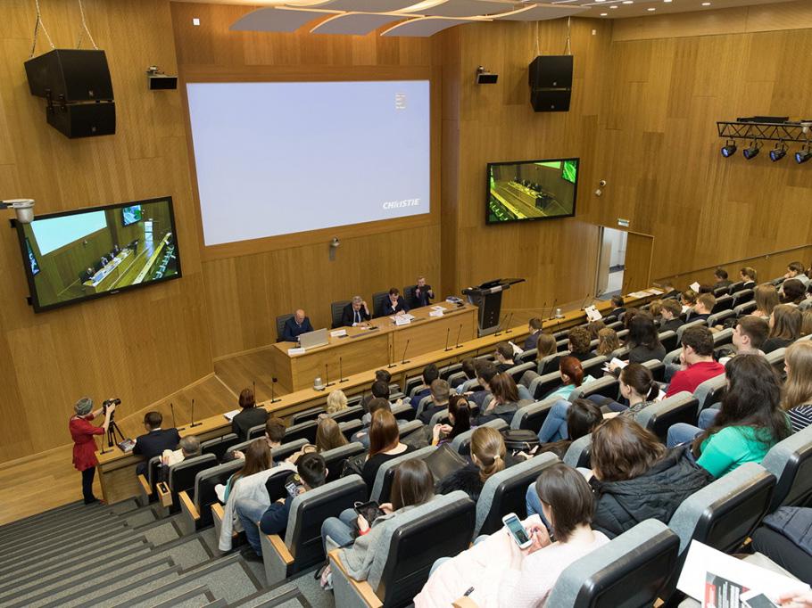 В СПбПУ состоялась конференция по вопросам экономической и финансовой безопасности России