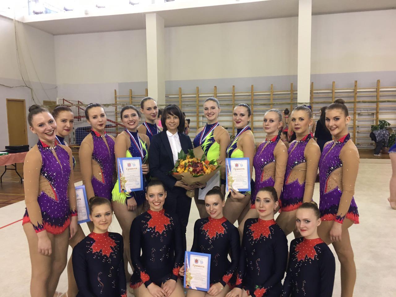 Гимнастки ИПМЭиТ стали призерами чемпионата Санкт-Петербурга по художественной гимнастике среди вузов