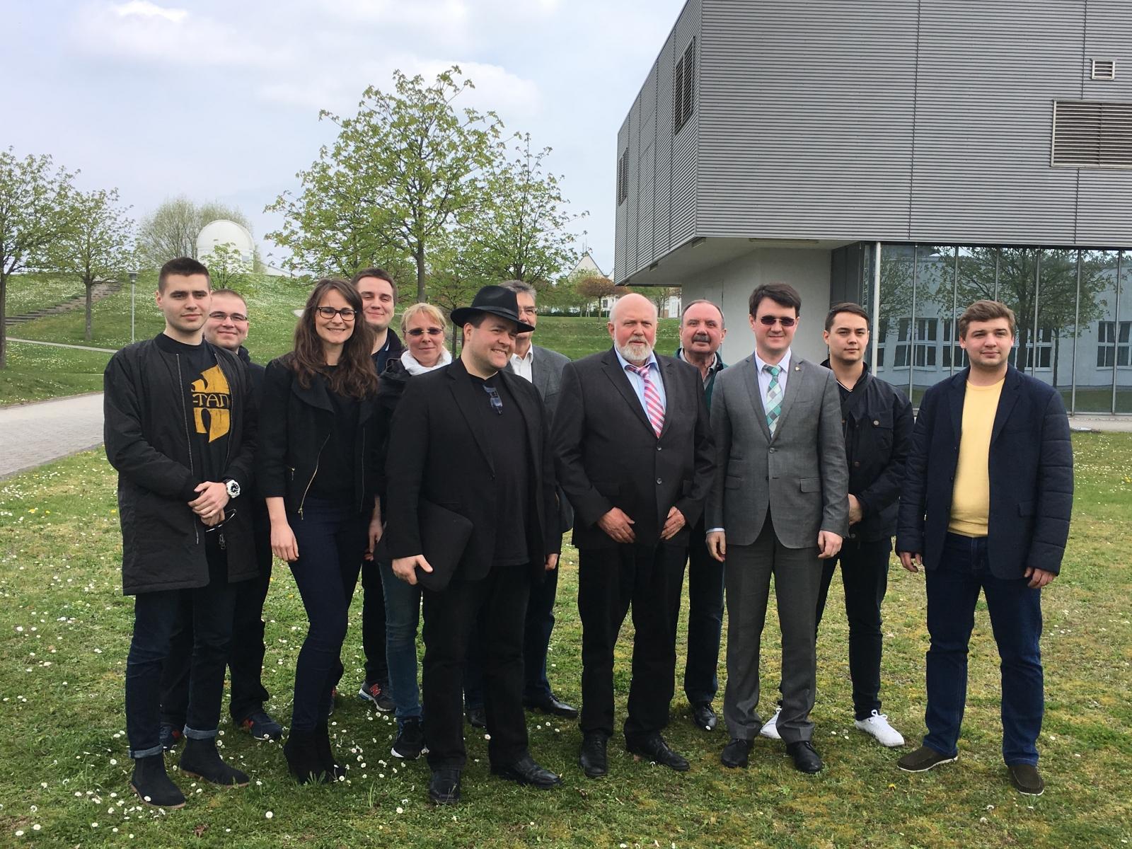 Делегация ВШПМиЭ посетила Высшую школу прикладных наук города Кайзерслаутерна