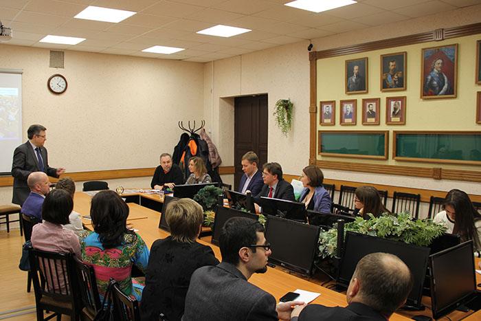 В ИПМЭиТ обсудили развитие экономического образования в технических вузах