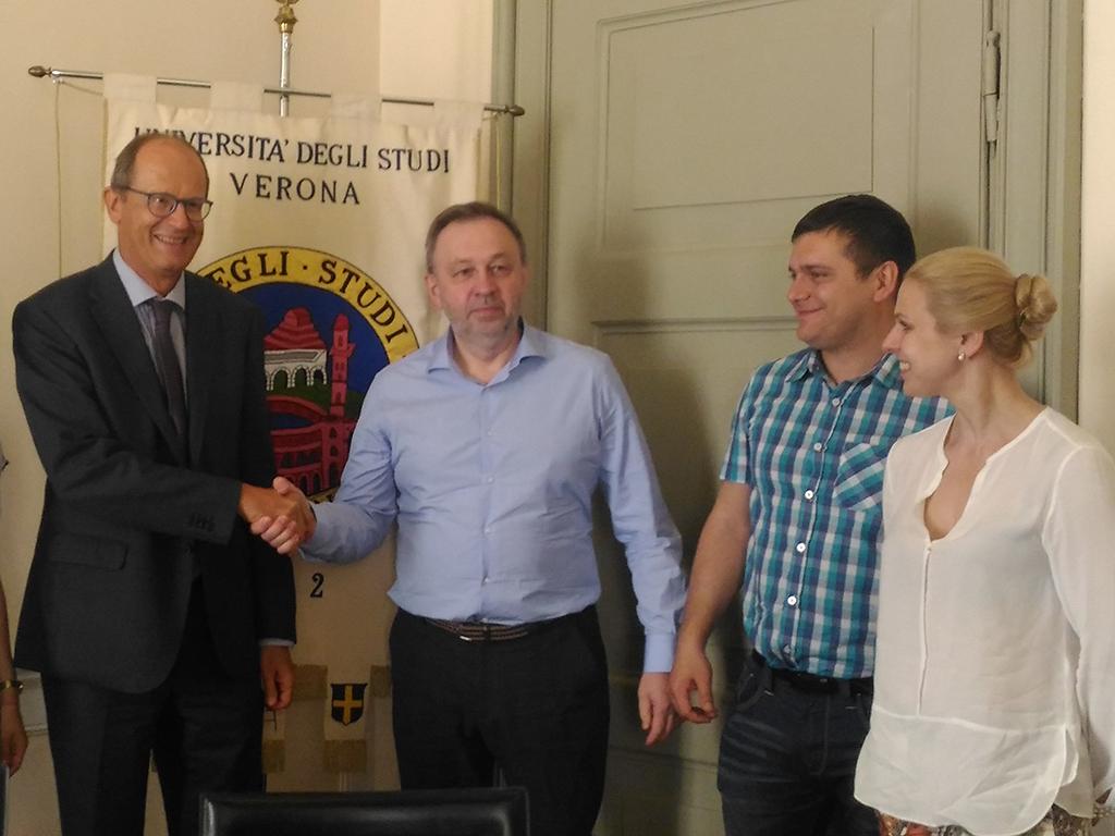 Делегация Высшей школы технологий управления бизнесом посетила университет Вероны