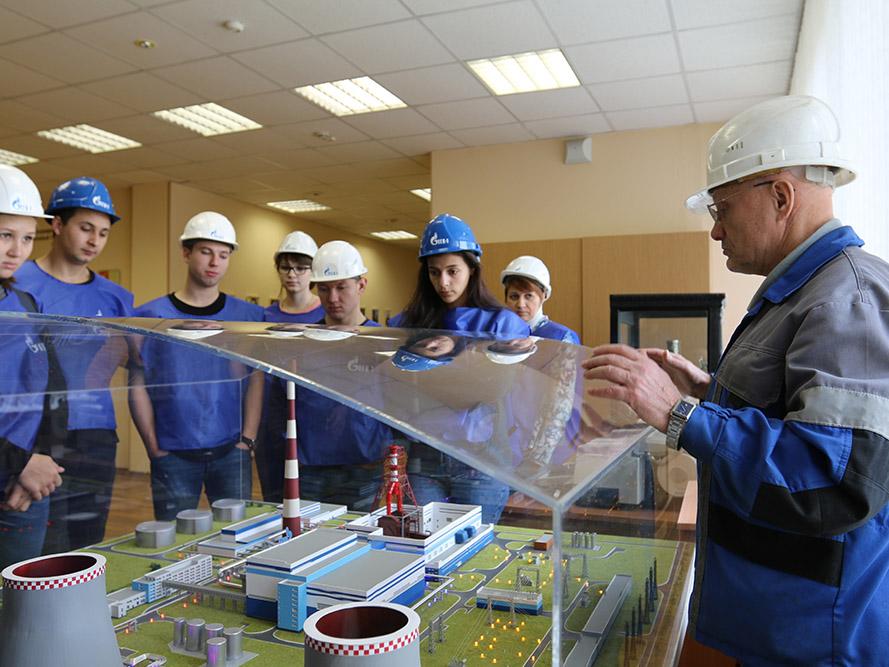 Студенты ВШПМиЭ посетили Правобережную ТЭЦ