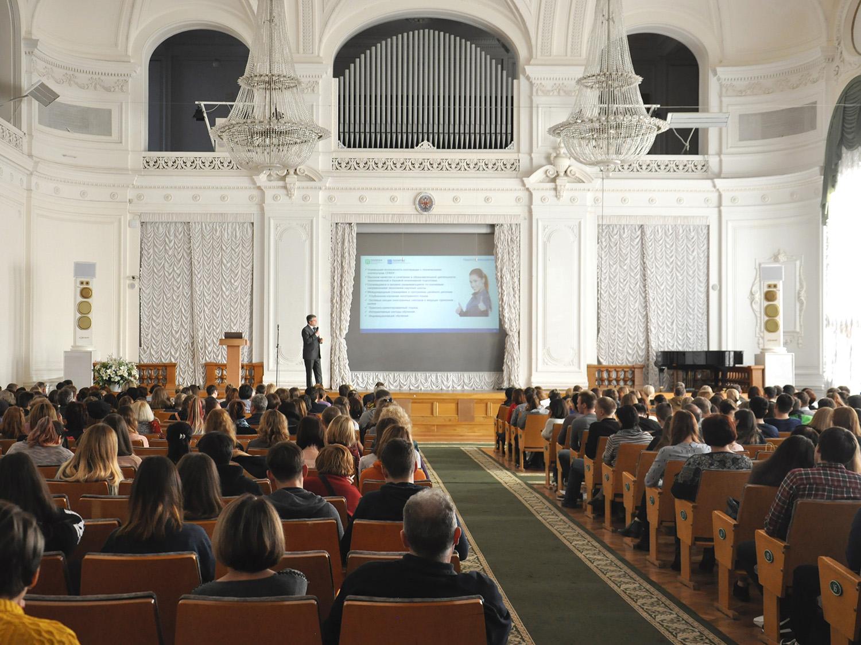 Как поступить и учиться: в Белом зале прошел День открытых дверей ИПМЭиТ