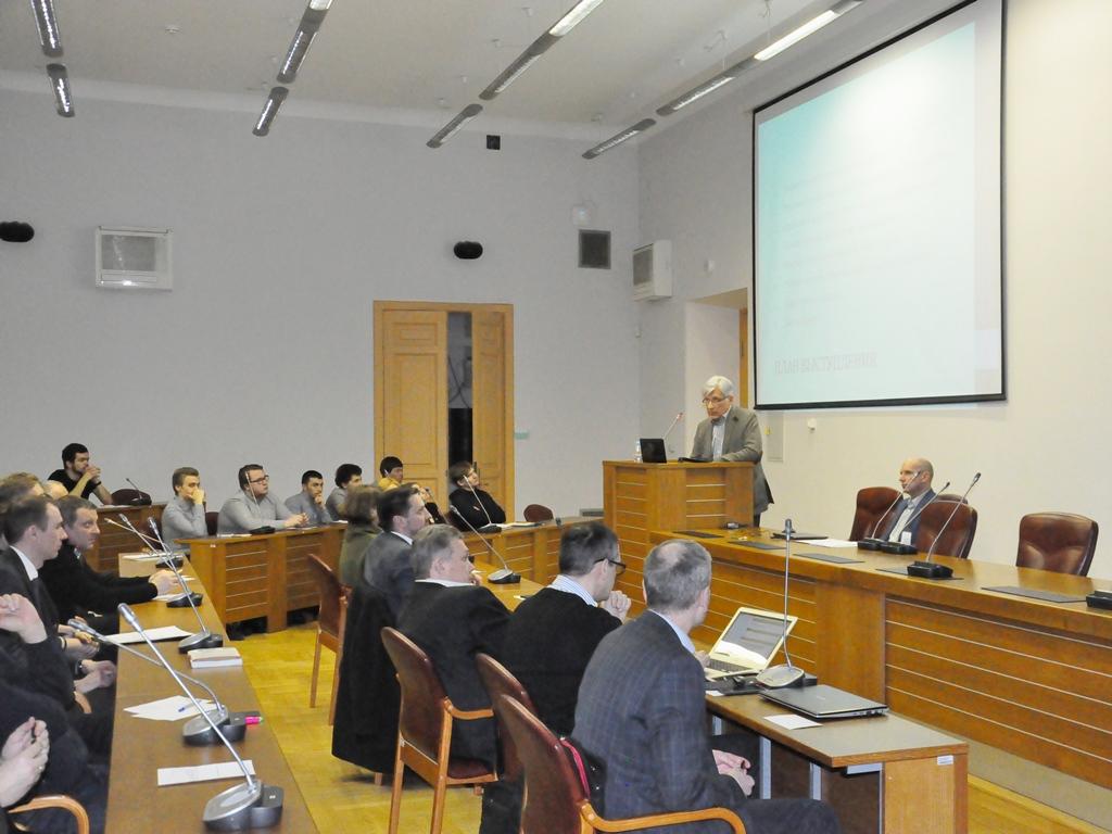 Лекция члена международного совета по системной инженерии (INCOSE)  В. К. Батоврина