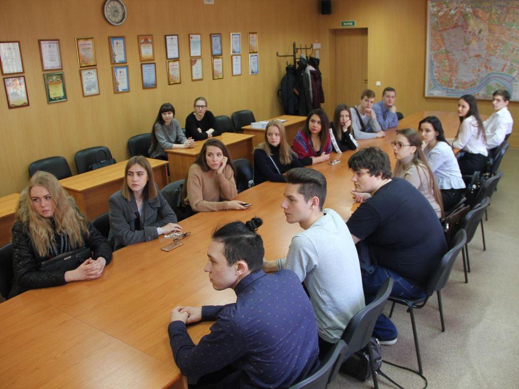 В Финляндском муниципальном округе прошел урок местного самоуправления для студентов ИПМЭиТ