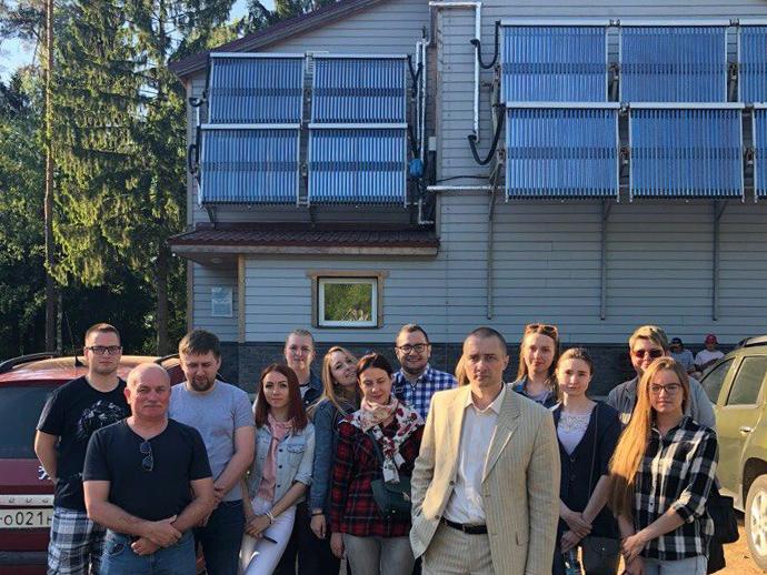Зеленые технологии: студенты Политеха посетили уникальный объект на территории  Ленинградской области