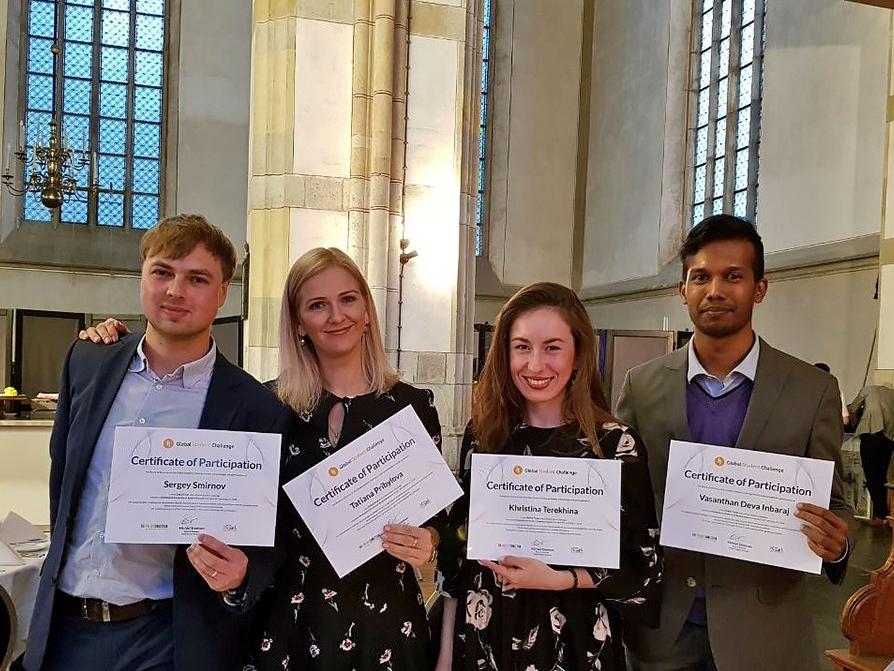 Команда ИПМЭиТ - призер мирового студенческого соревнования The Fresh Connection