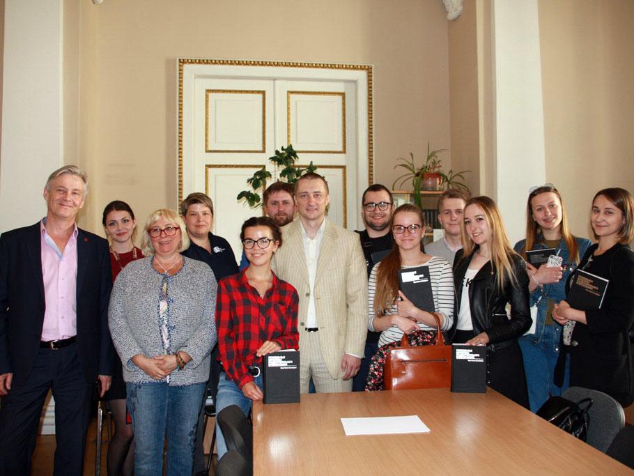 Студенты ИПМЭиТ посетили ведущую организацию Санкт-Петербурга в сфере реализации градостроительной политики города