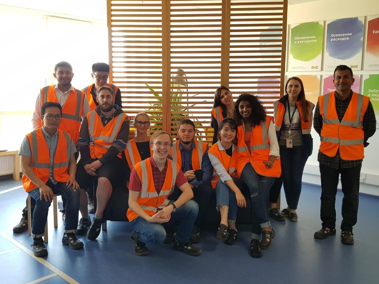 Студенты ИПМЭиТ побывали на фабрике IKEA в Великом Новгороде
