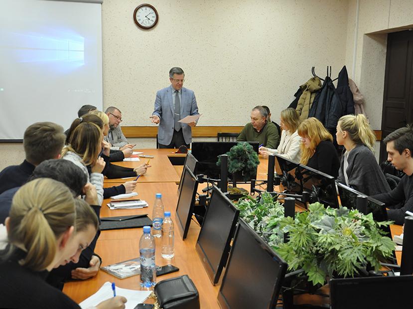 Директор ИПМЭиТ обсудил с магистрами вопросы учебного процесса