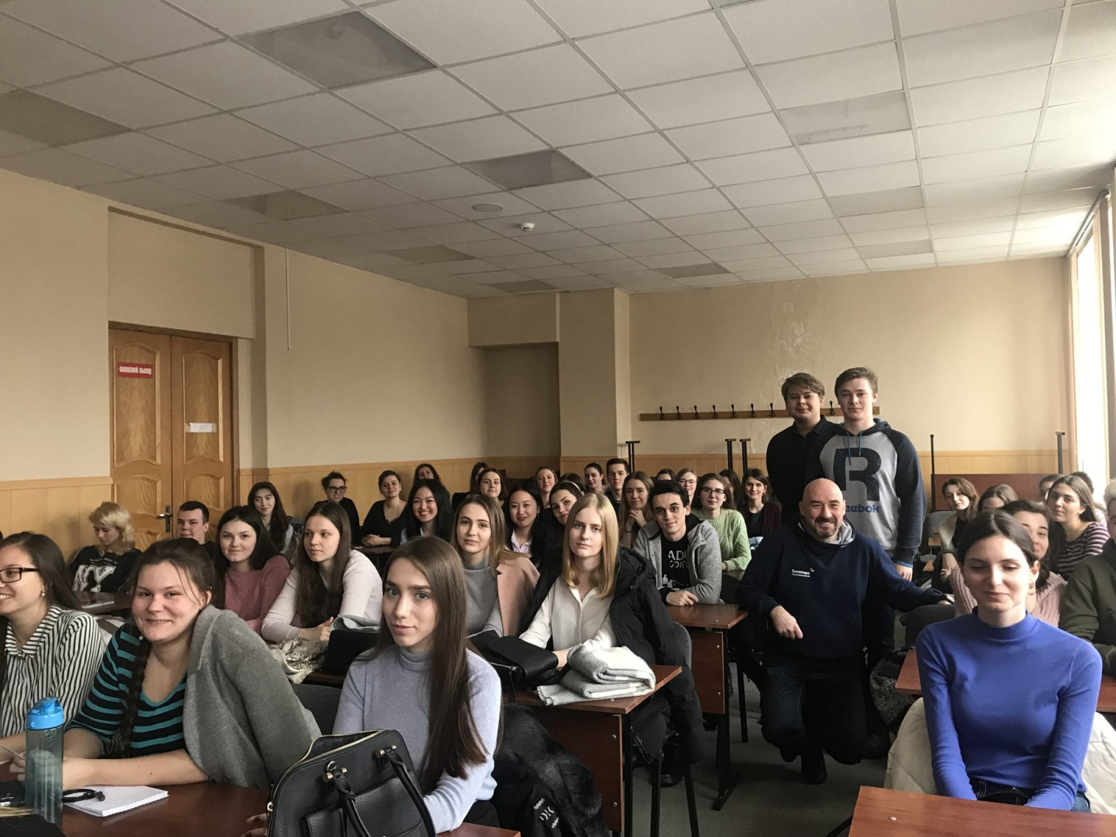 Студенты ВШУБ в Технопарке «Политехнический»