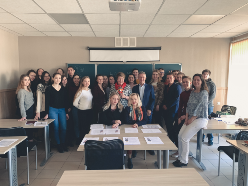 Австрийский профессор прочитал курс лекций для студентов ВШСТ