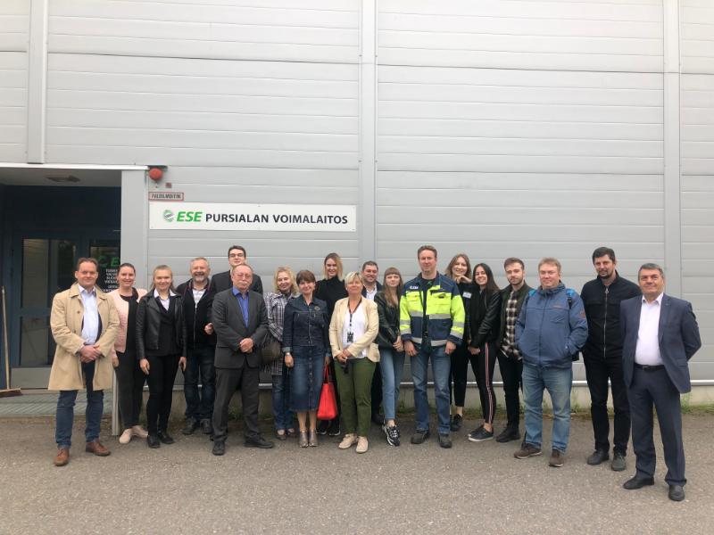 Визит в Финляндию в рамках проекта Green ReMark