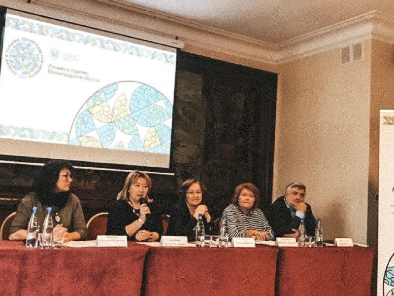 Представители ВШСТ на пресс-конференции по вопросу организации и проведения конкурса «Лучшие в туризме Ленинградской области»