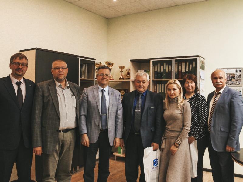 Развиваем сотрудничество: ответный визит ГБУ Ленинградской области «МФЦ» в СПбПУ