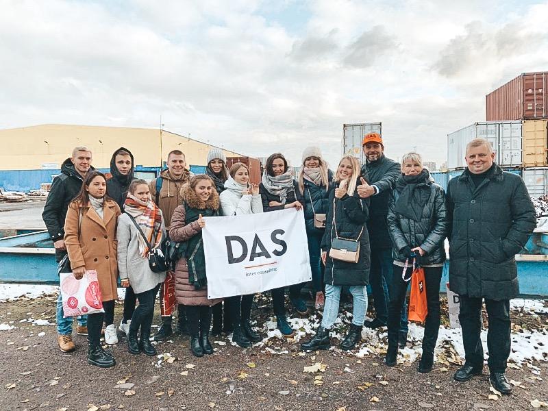 Экскурсия студентов ВИЭШ на контейнерный терминал «РУСМАРИН»