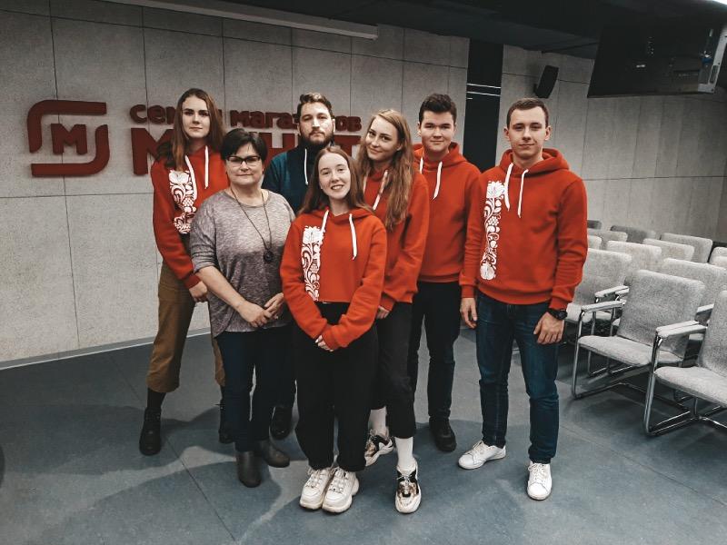 Визит делегации ВШСТ в головную компанию сети магазинов «Магнит»