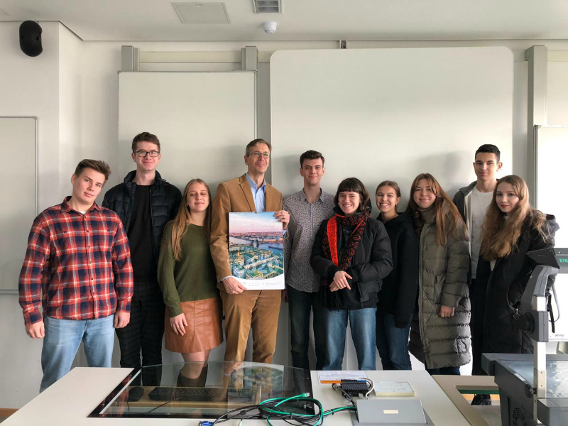 The Graduate School of Service and Trade delegation visited the University of Applied Sciences Stralsund (Germany)